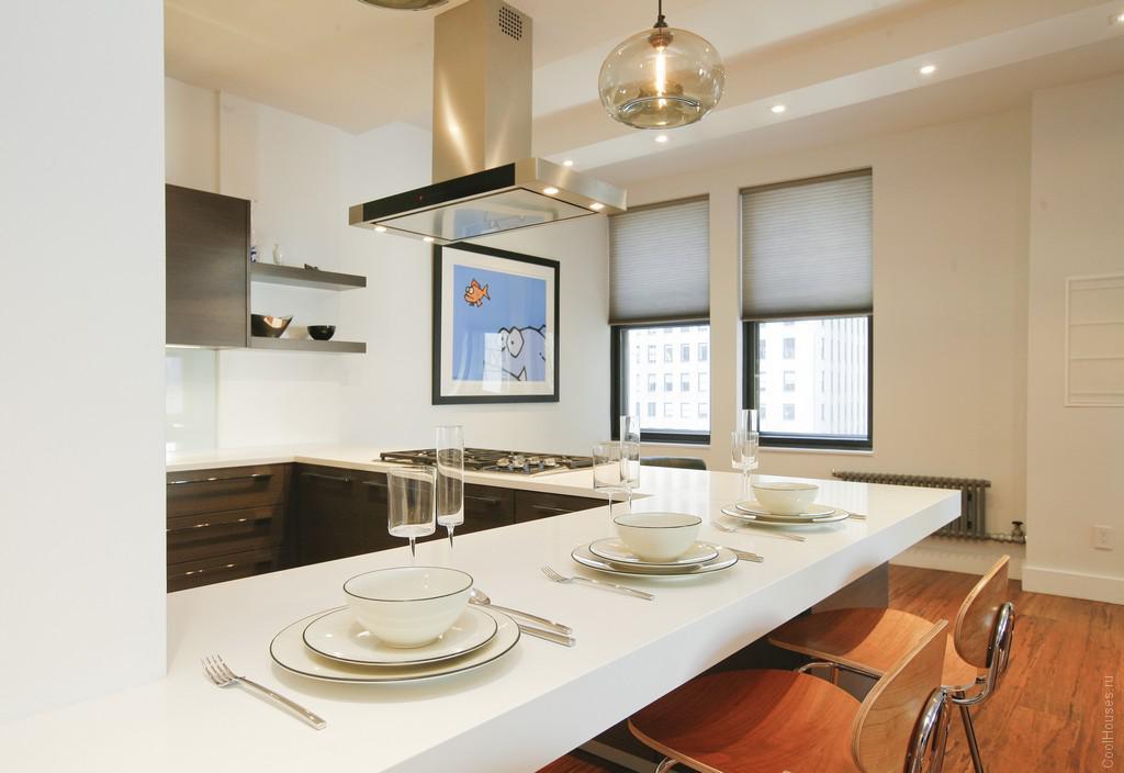 Cовременная квартира-студия на Манхеттене