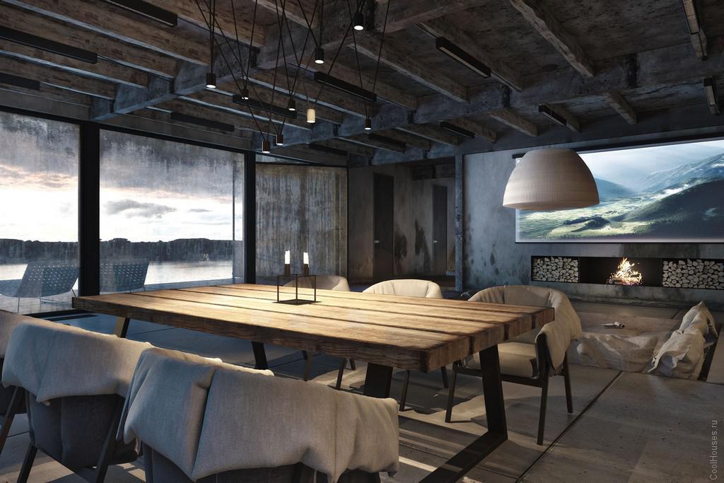 Дом с мужским дизайном на побережье Черного Моря