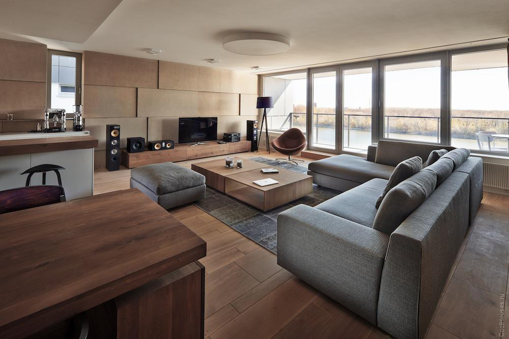 Квартира в новом жилом комплексе RiverPark в Братиславе