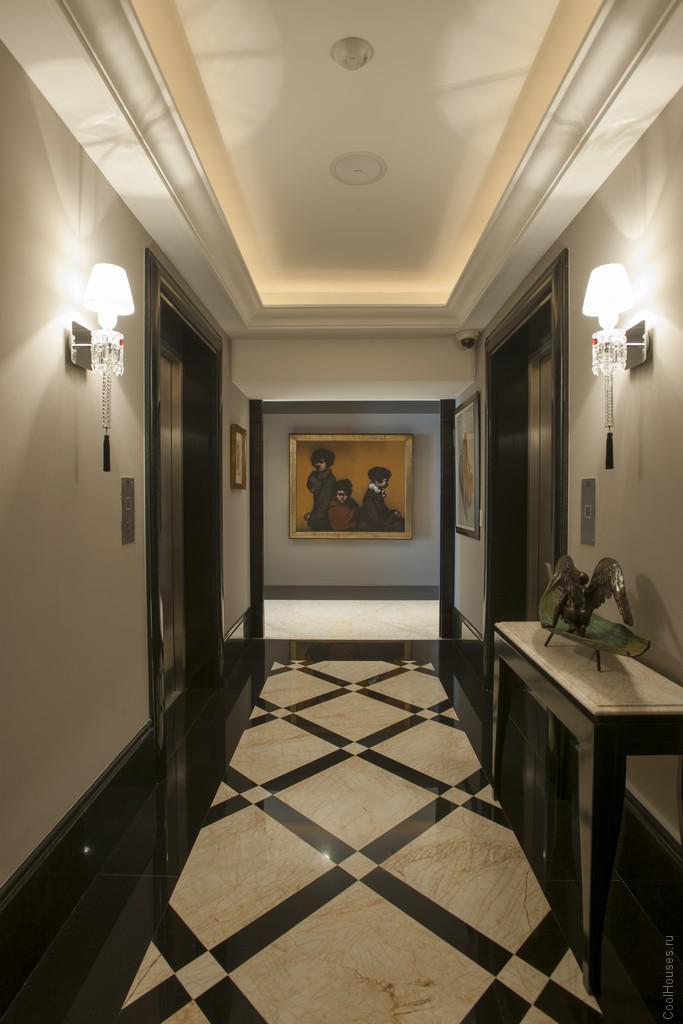 Шикарный дизайн апартаментов от студии ARCO