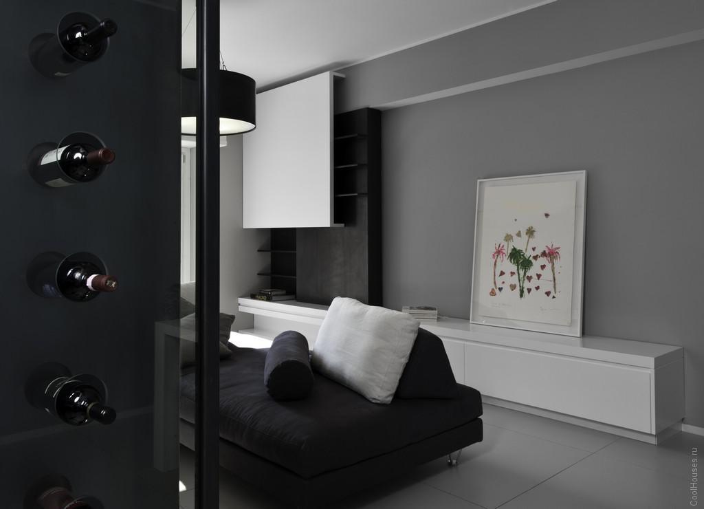 Современный стильный ремонт квартиры в Риме