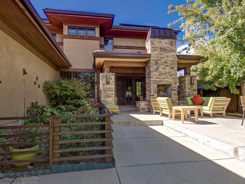 Частный дом в пригороде Денвера, США