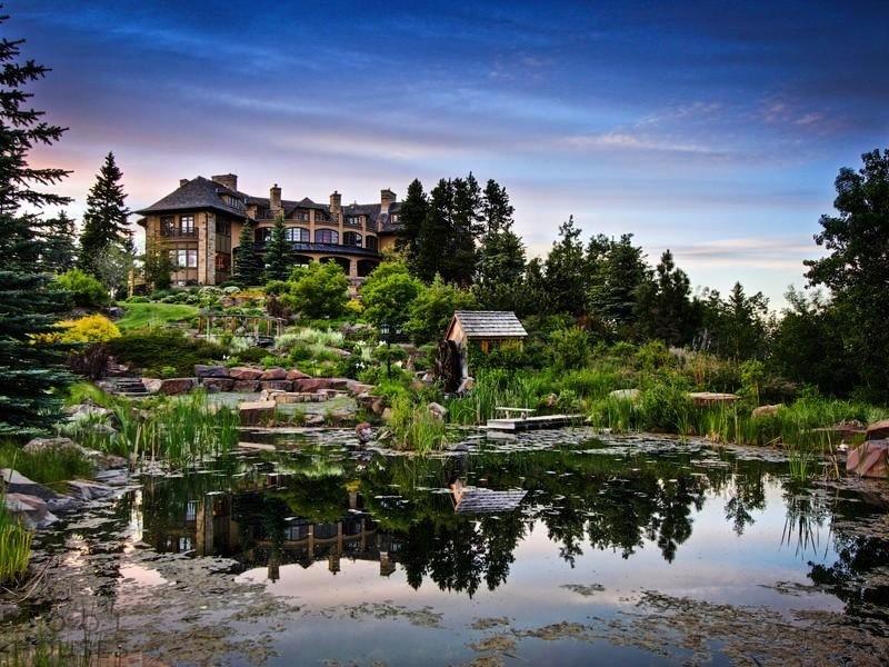 Эксклюзивная усадьба в Канаде