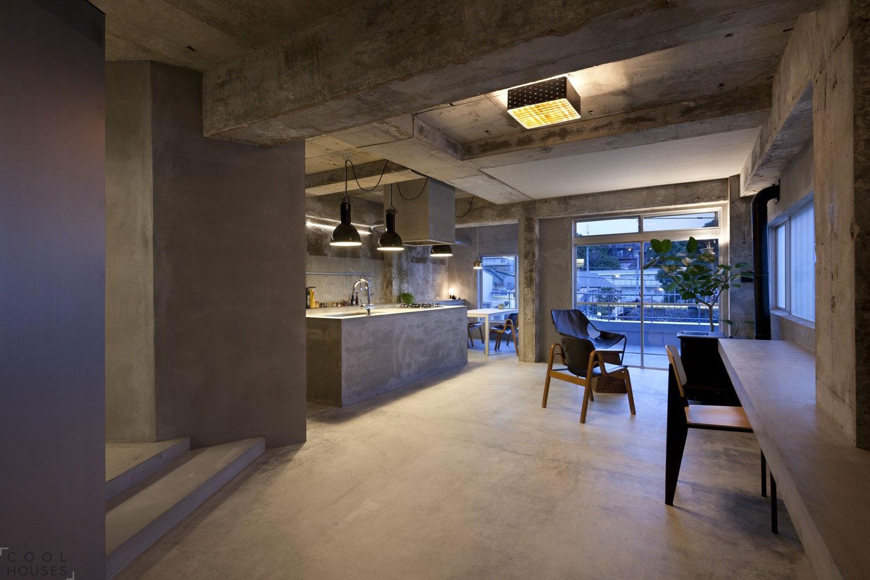 Оригинальный ремонт квартиры в Японии