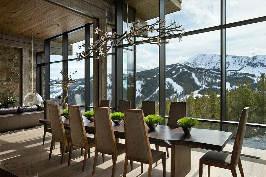 """Потрясающий дом в горах в штате """"Сияющих гор"""""""