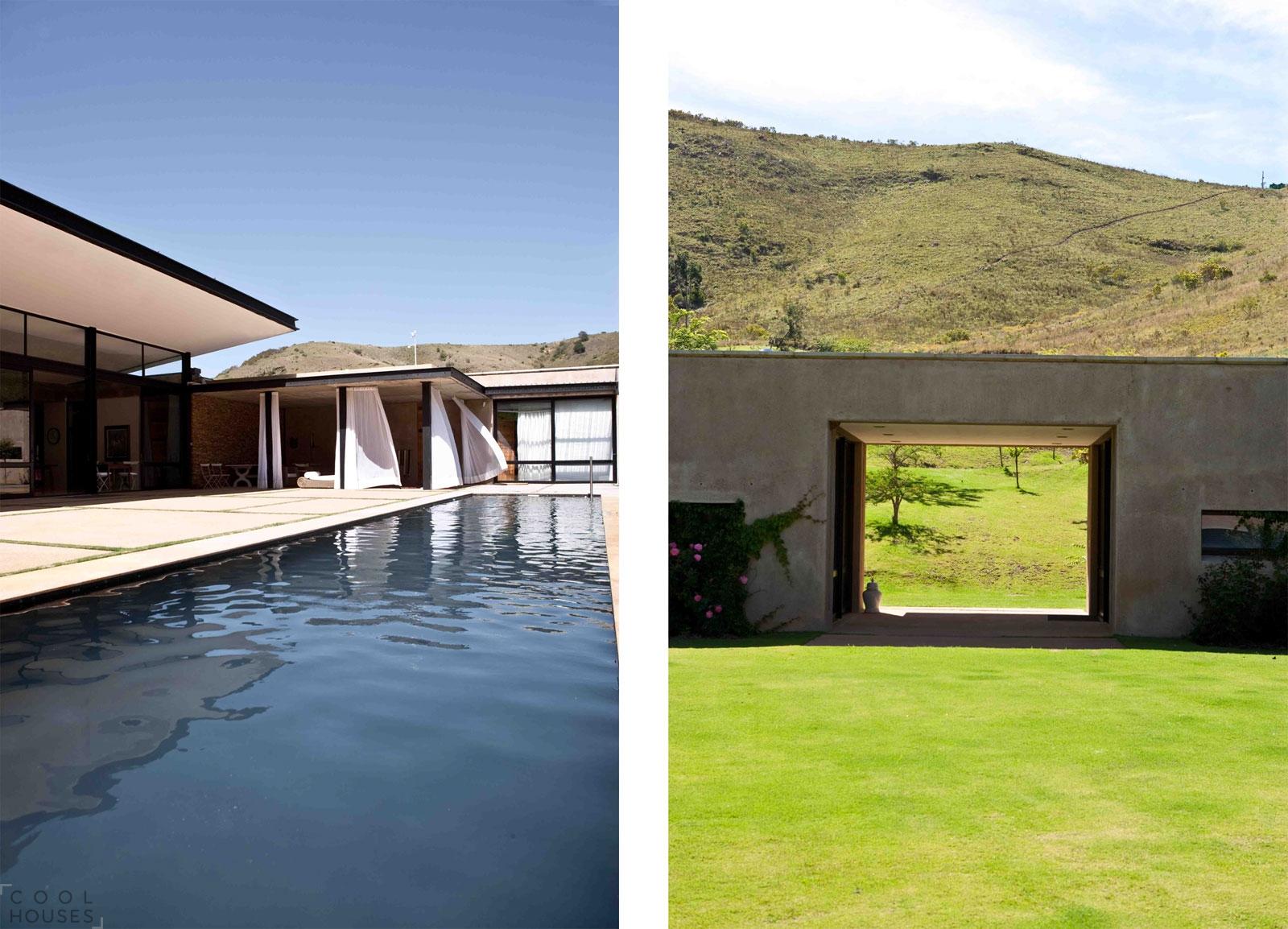 Роскошная загородная резиденция в горах ЮАР