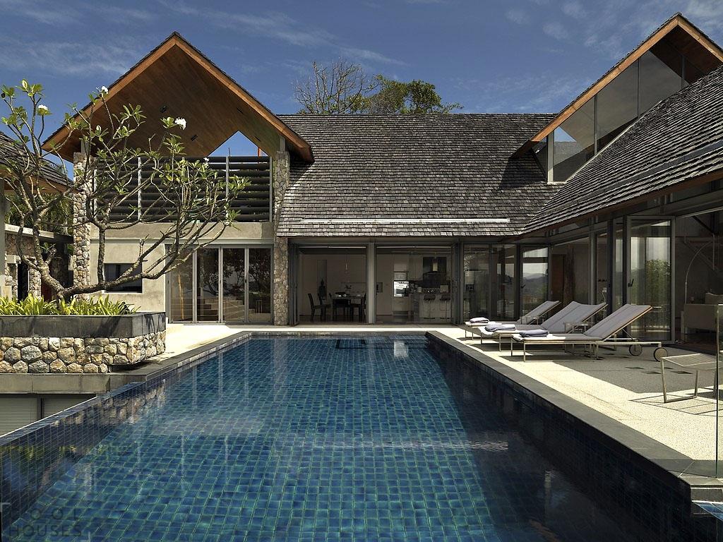 Шикарный современный дом на острове Пхукет, Таиланд