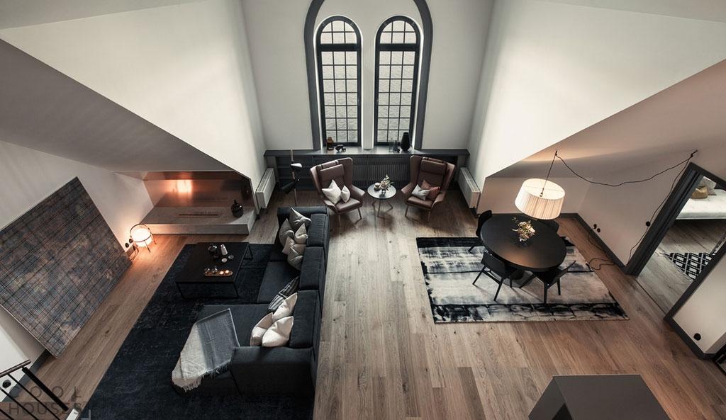 Современная квартира с функциональной планировкой