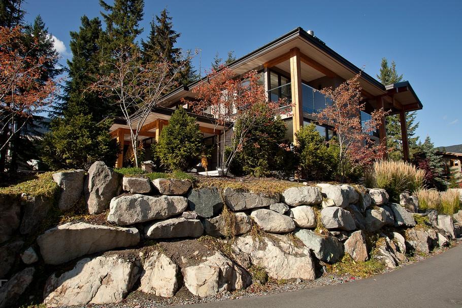 Уютное шале в канадском городе-курорте Уистлер