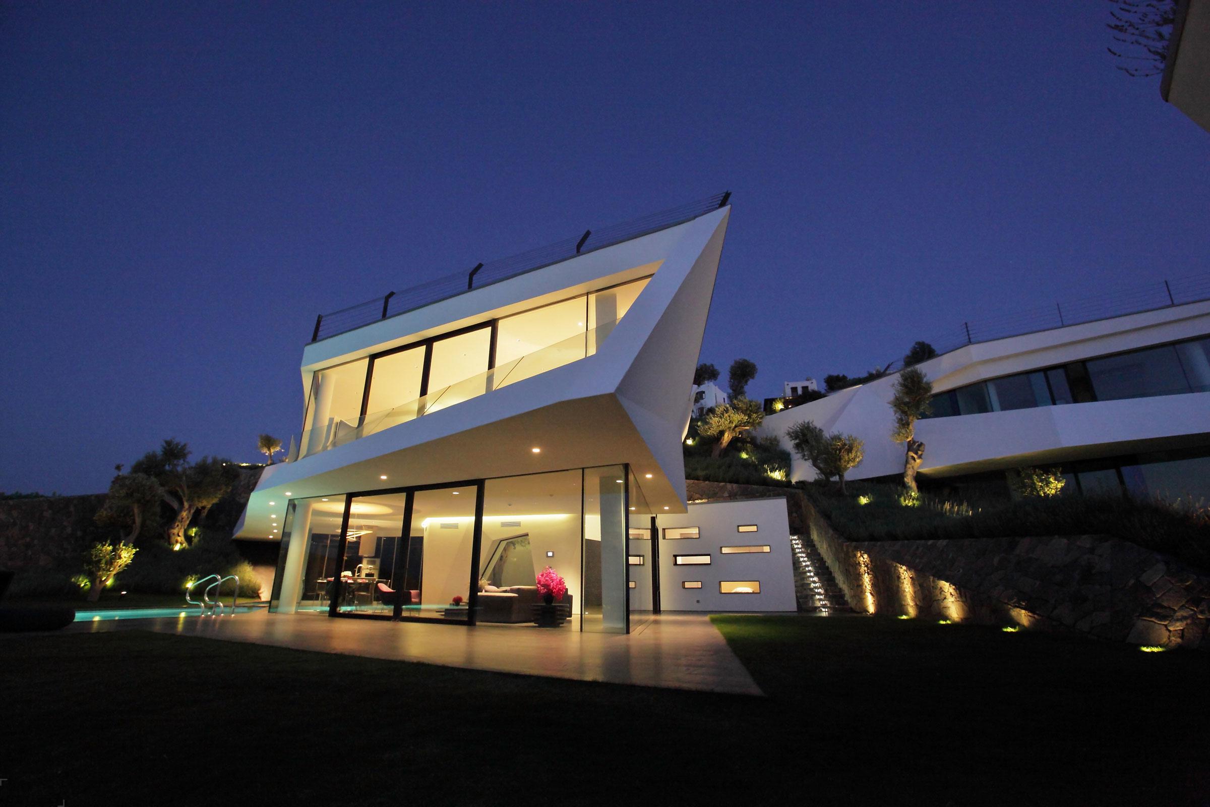 Пять потрясающих современных вилл в Бодруме, Турция
