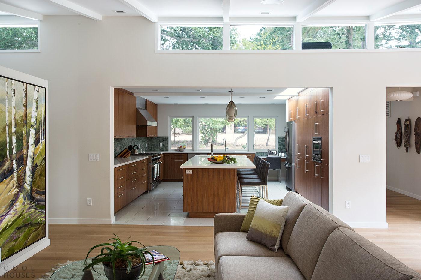 Реконструкция жилого дома в городе Лафайет, США