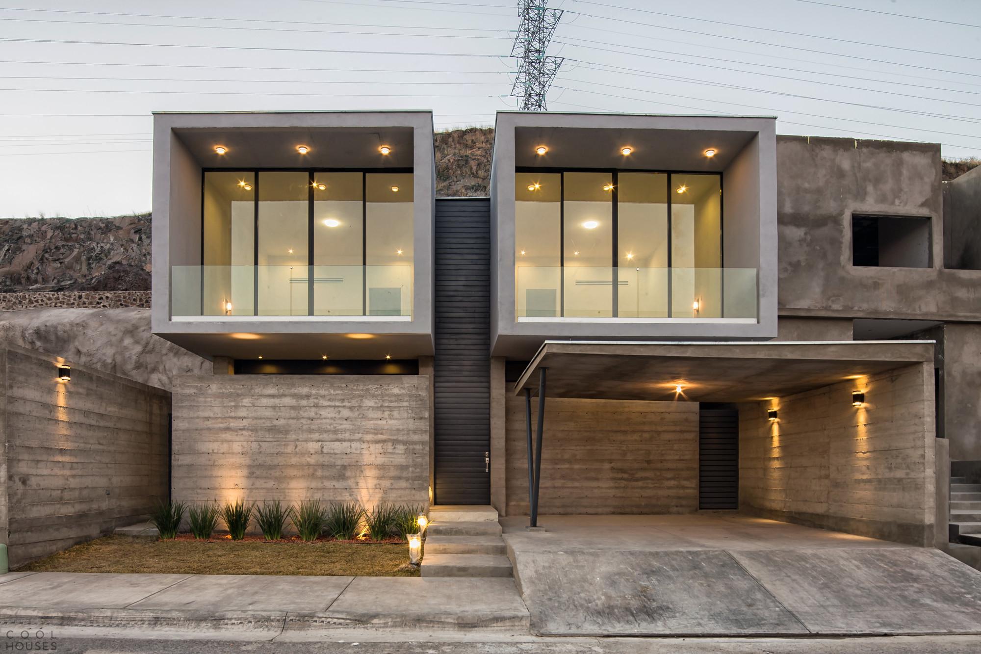 Современный дом в Мексике