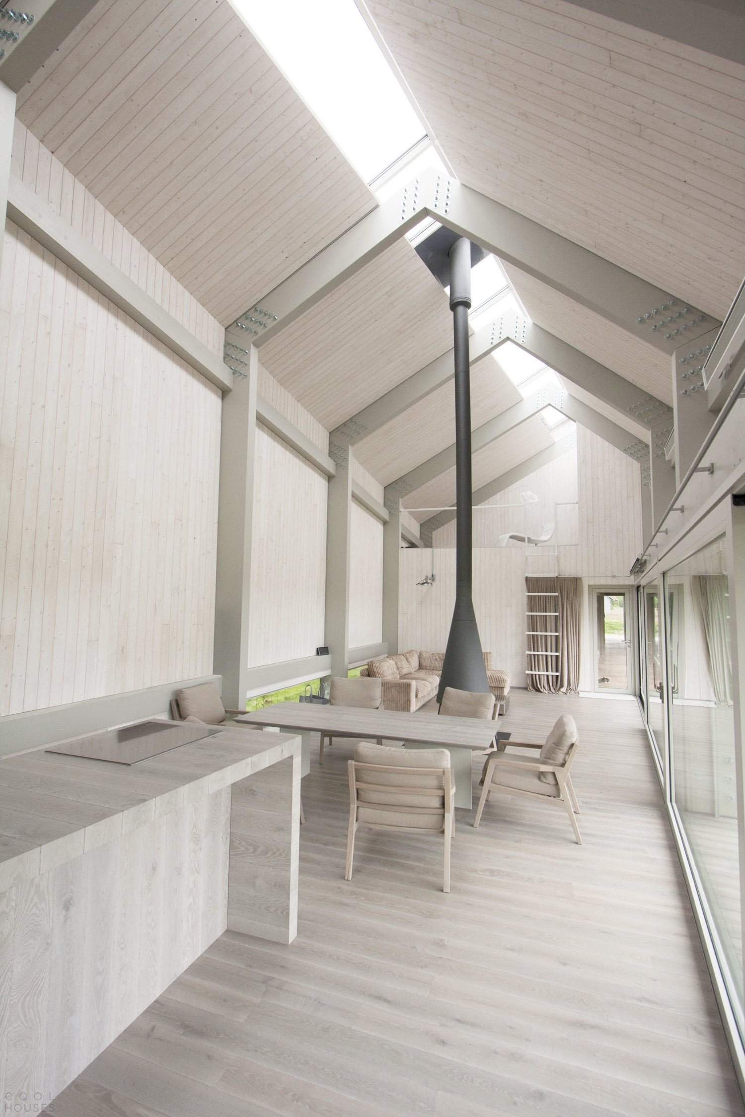Дом в дюнах Балтийского моря в Латвии