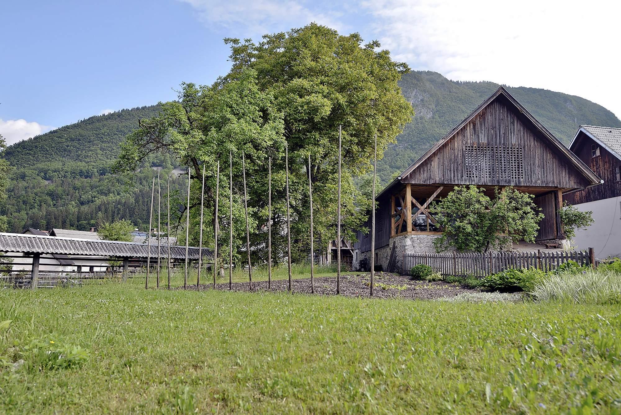 Красивый дом на месте старого сарая