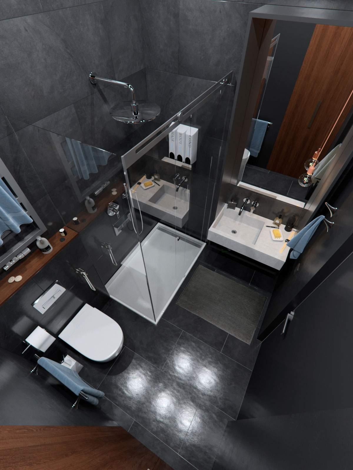 Квартира с мужским интерьером в Украине