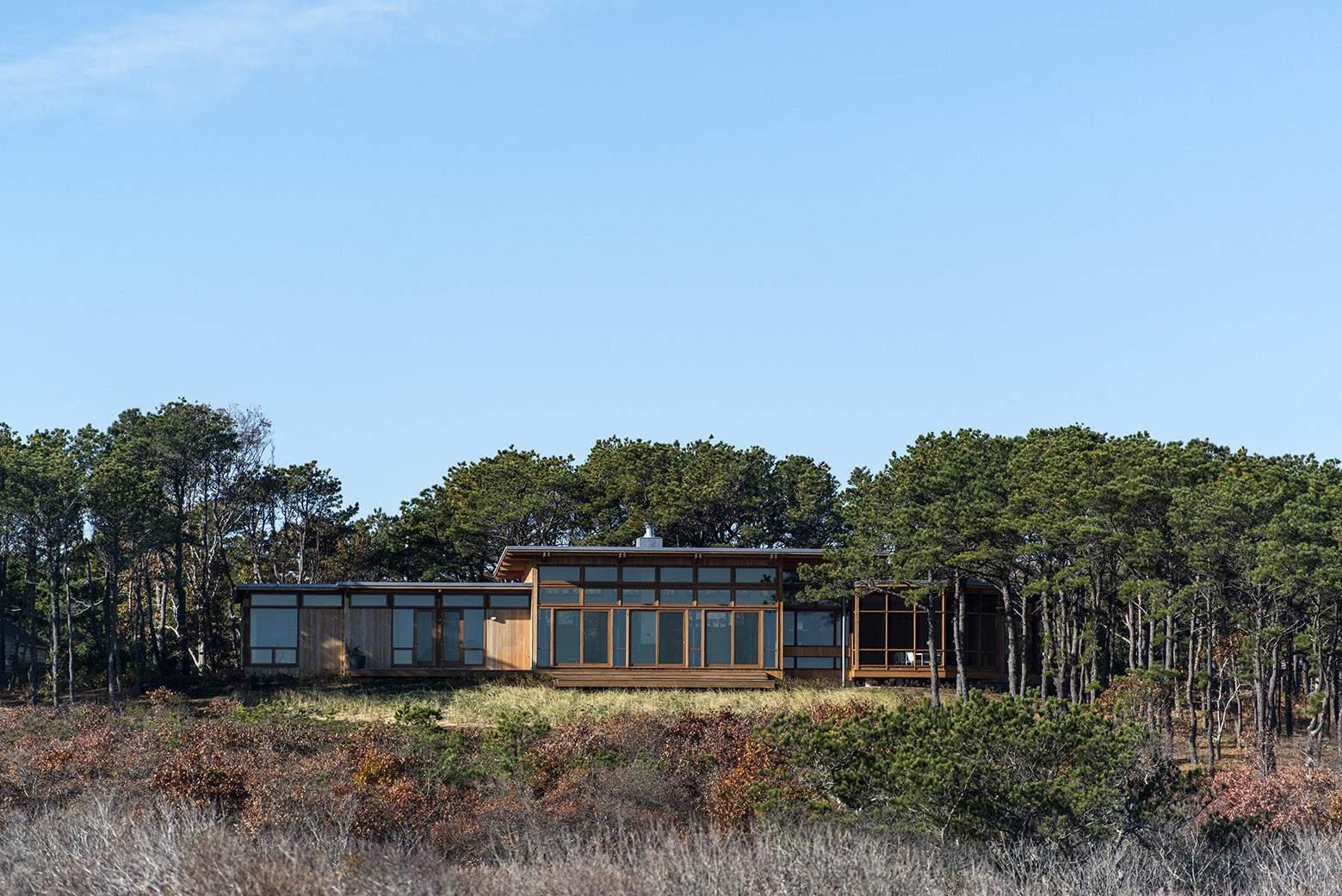 Летний дом на берегу Атлантического океана в США