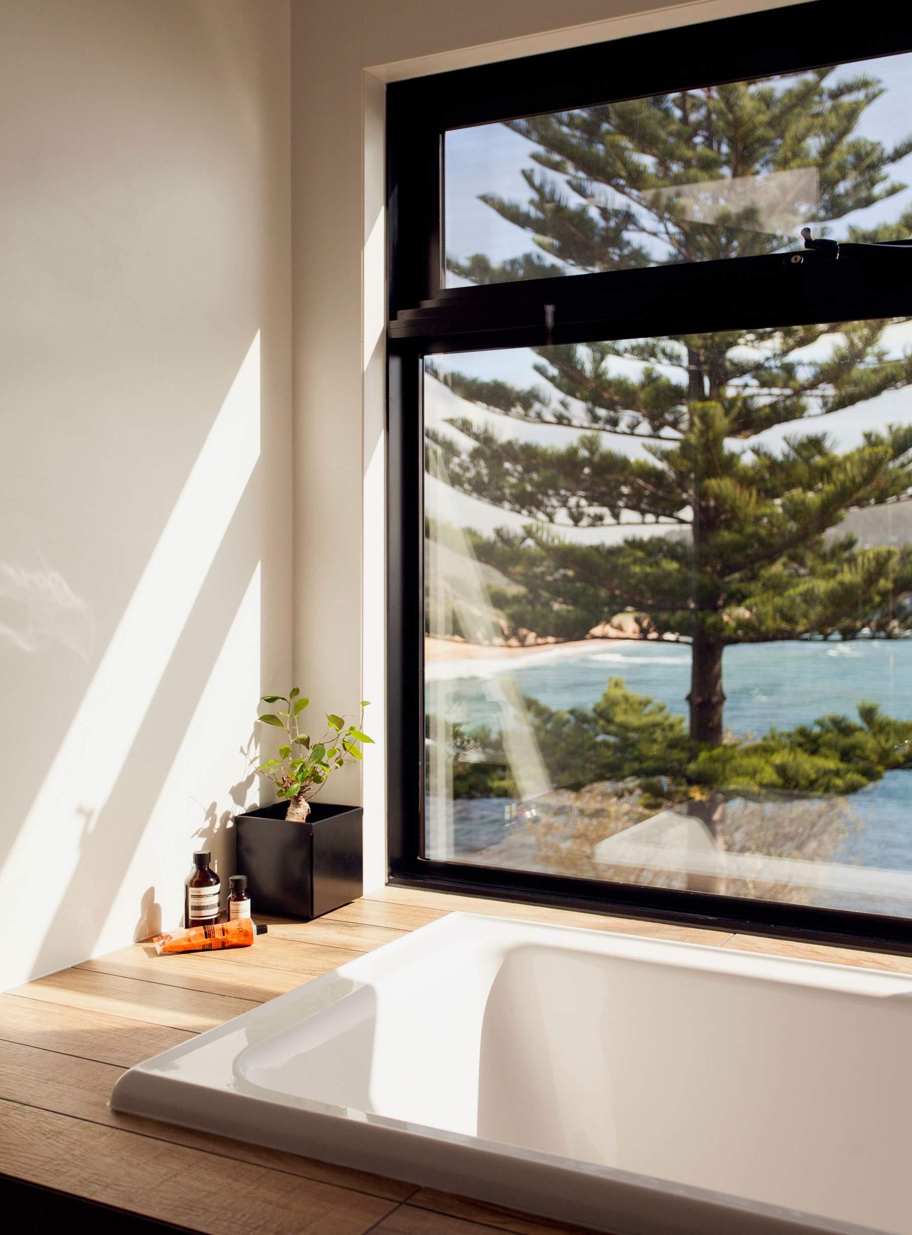 Мобильный дом на берегу океана в Австралии