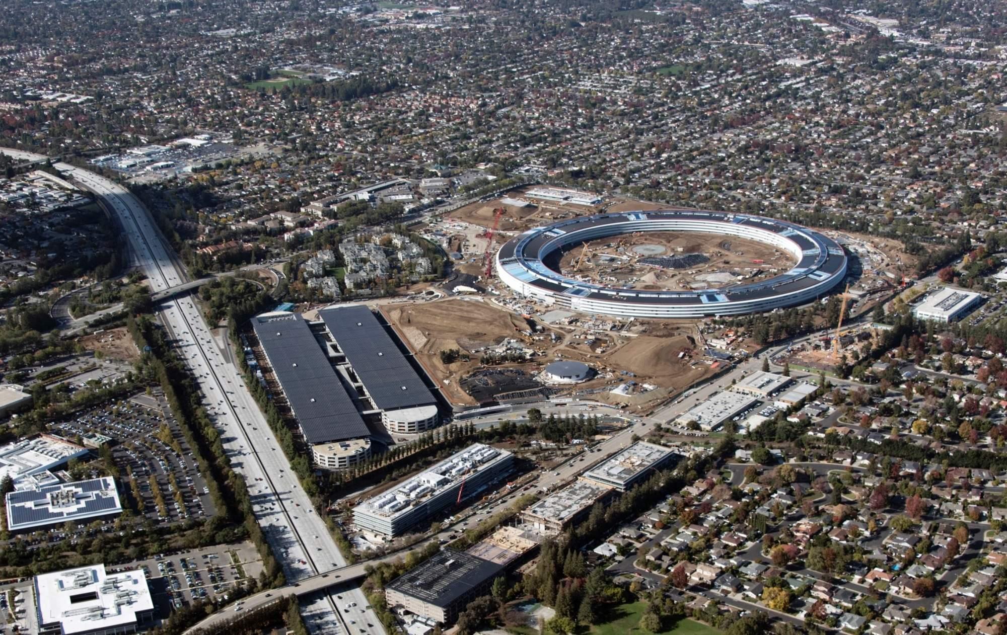 Apple Campus 2 - фантастический офис уже реальность