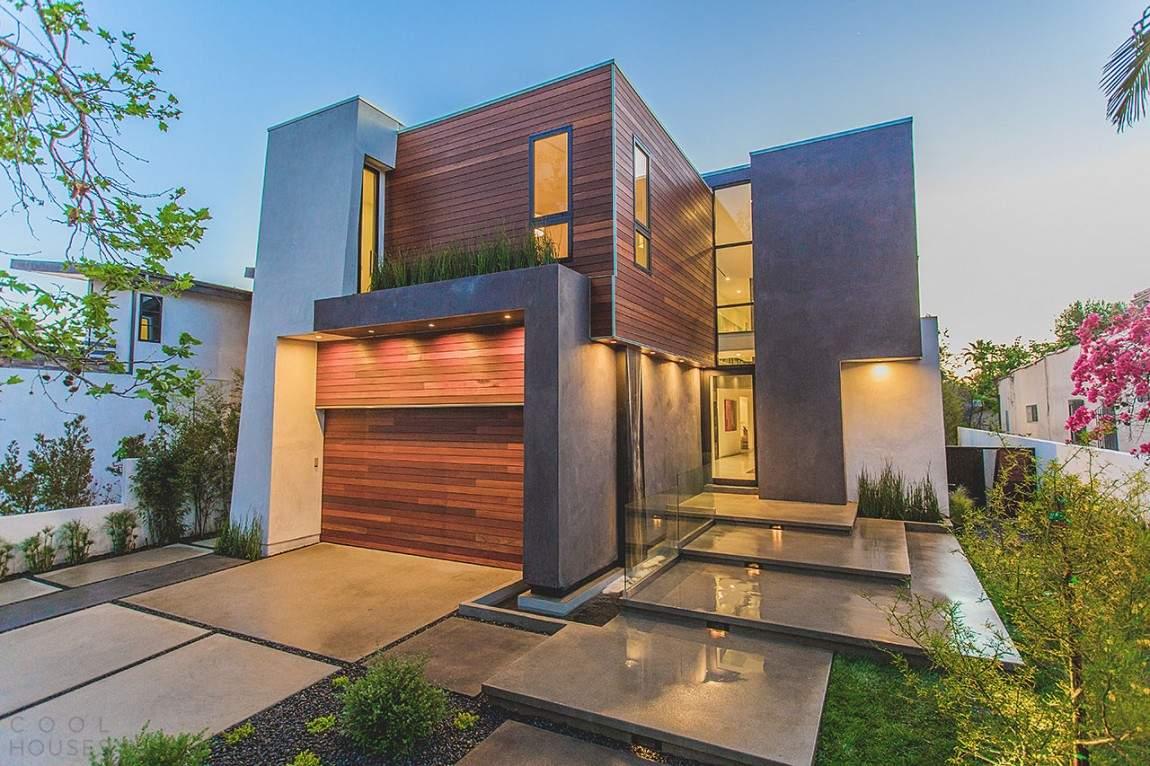 Особняк с модернистским дизайном в США