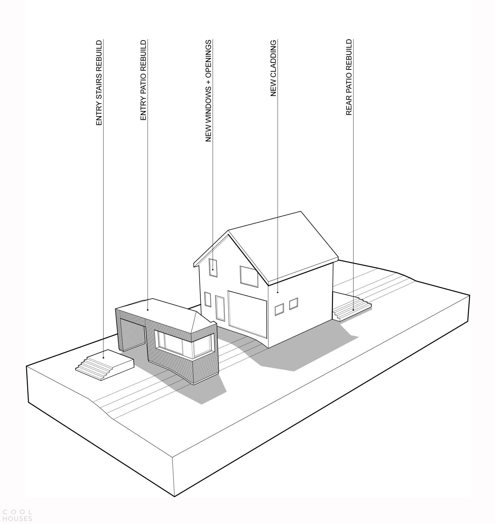 Реконструкция старого дома в Канаде