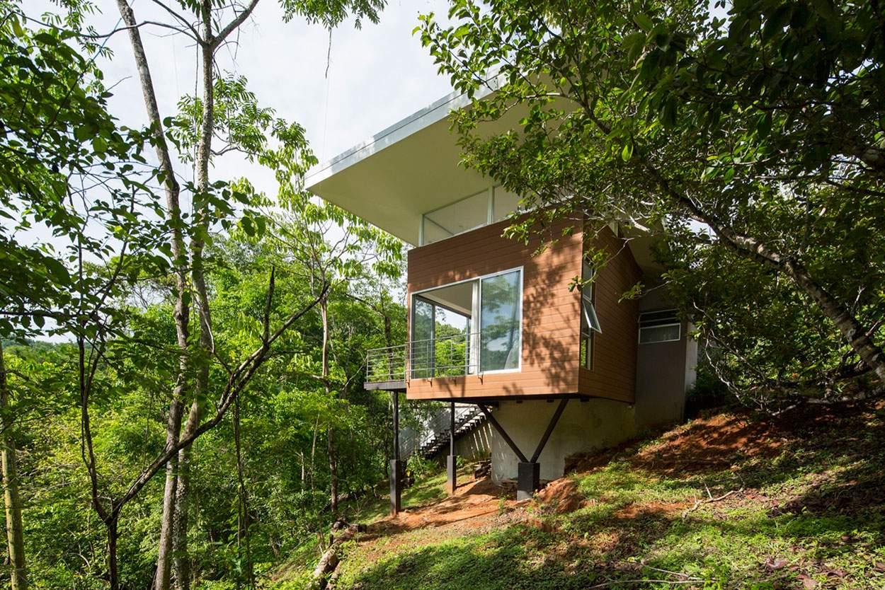 Загородная вилла «Дом Чайка» в Коста-Рика