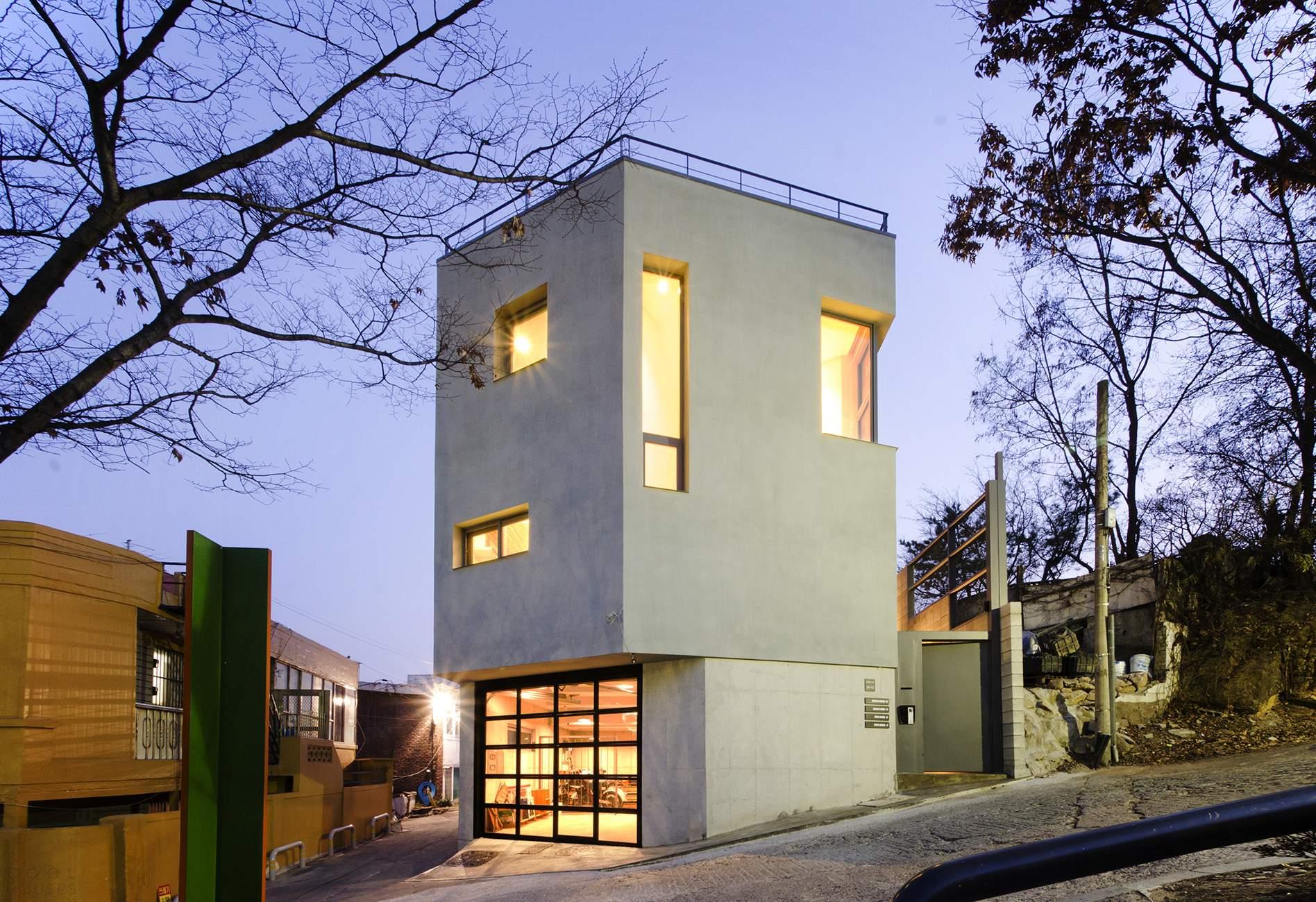 Дом Chico & Chica в Южной Корее