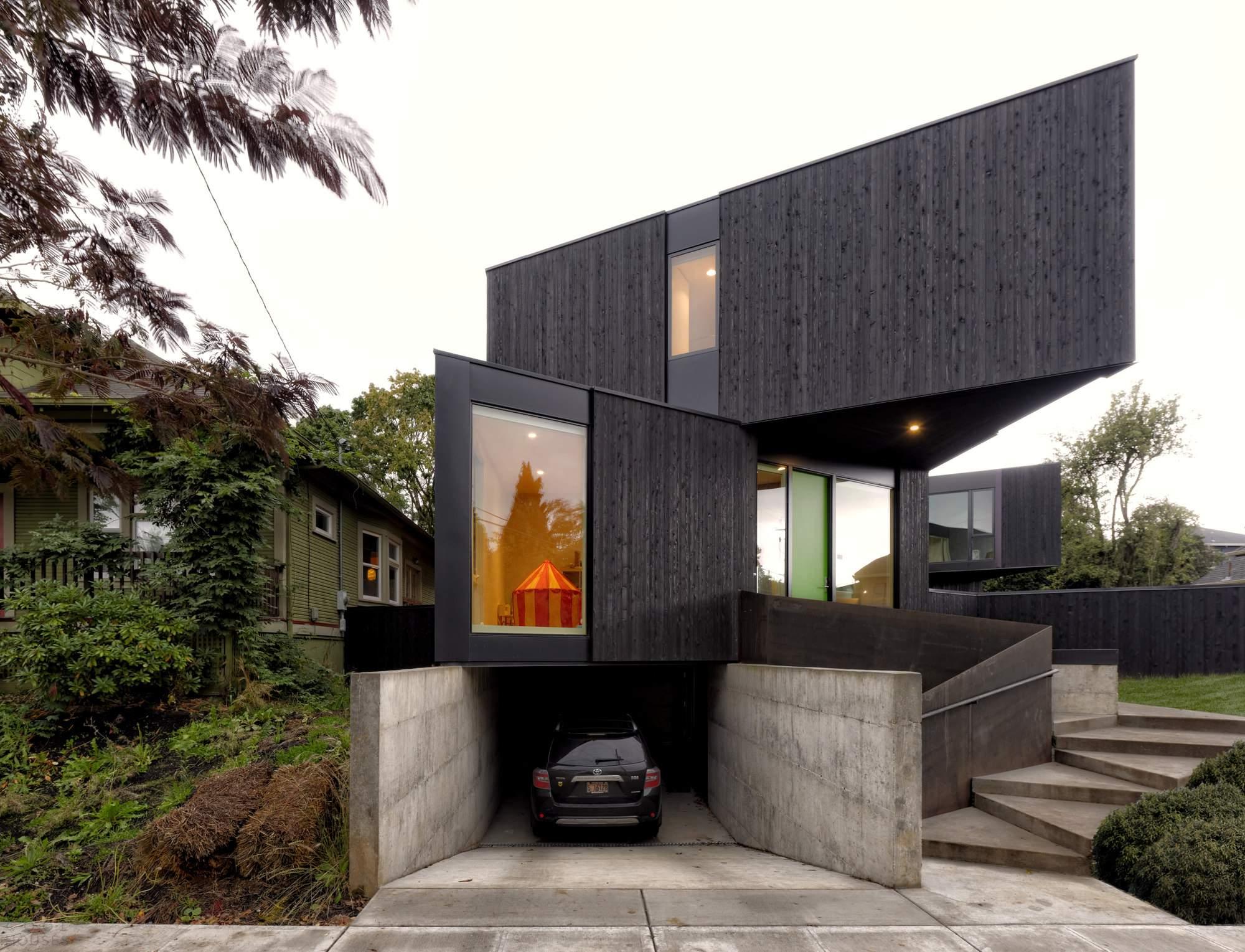 Модульный дом HOMB в Портленде, США