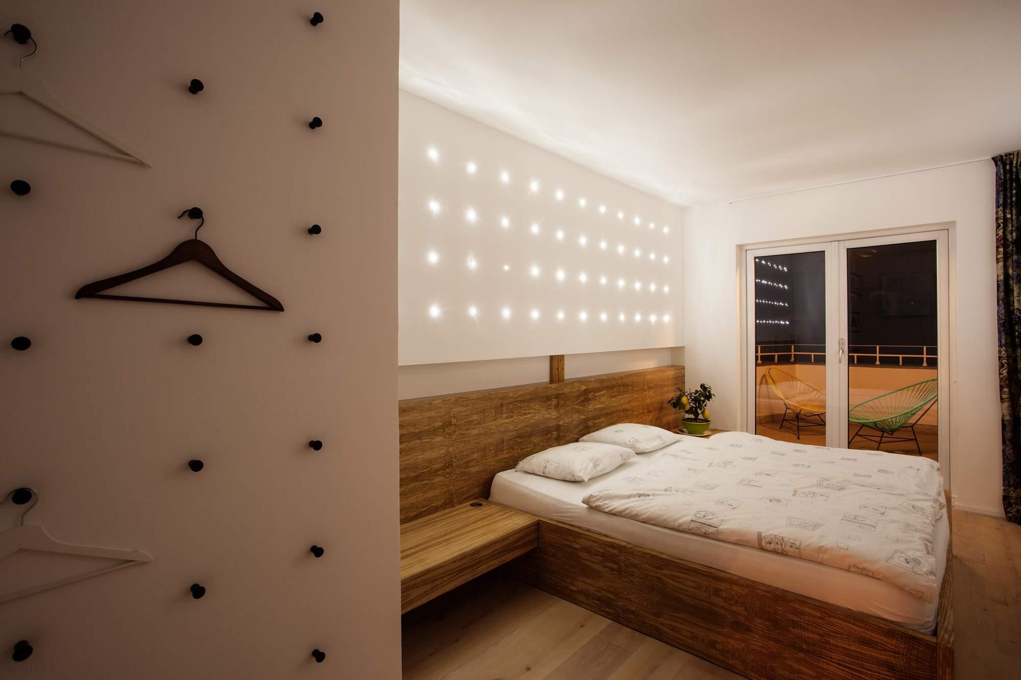 Стильная квартира в бывшем чердачном помещении в Праге, Чехия