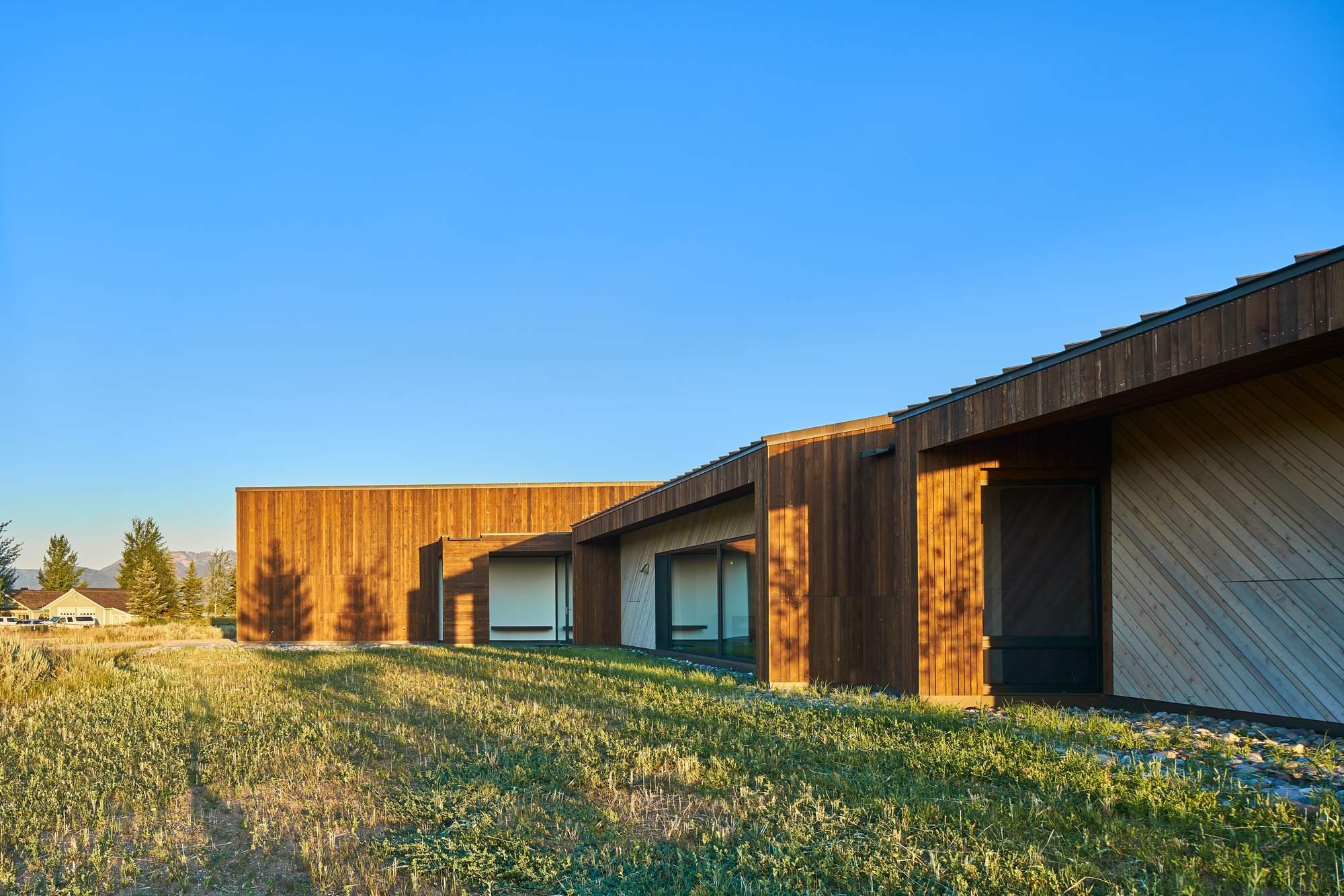 Дом из пихты для пенсионеров, США