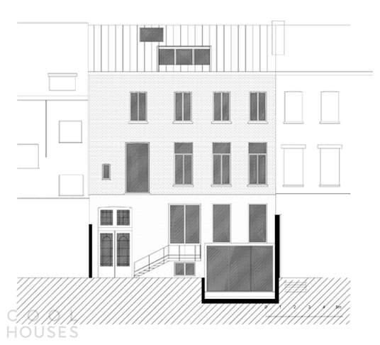 Реставрация и обновление особняка XIX века в Бельгии