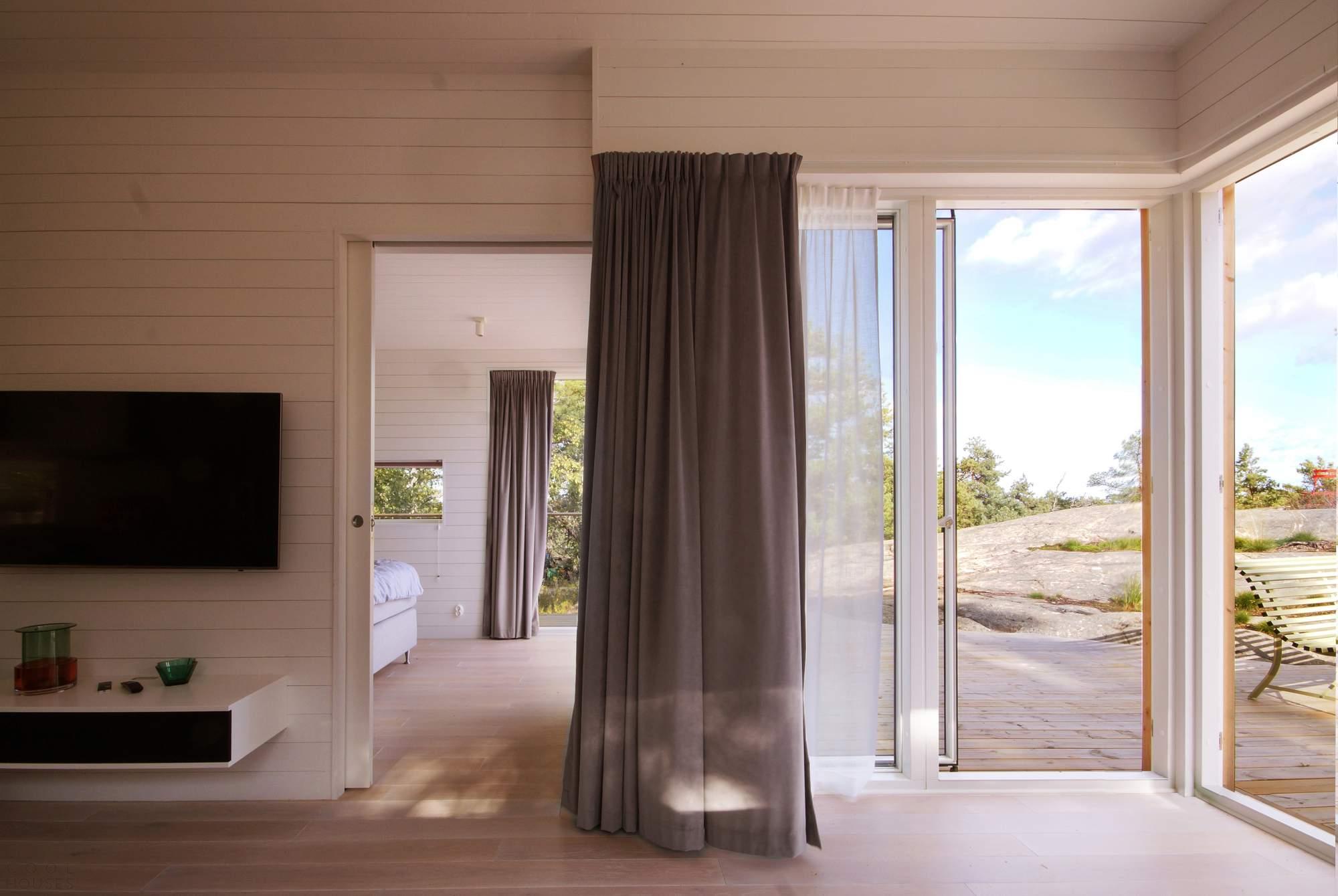 Модульный летний домик на Стокгольмском архипелаге, Швеция