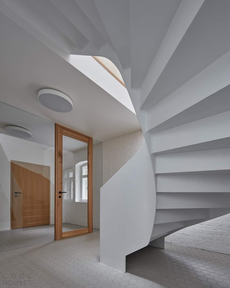 Реконструкция семейного дома в Чехии