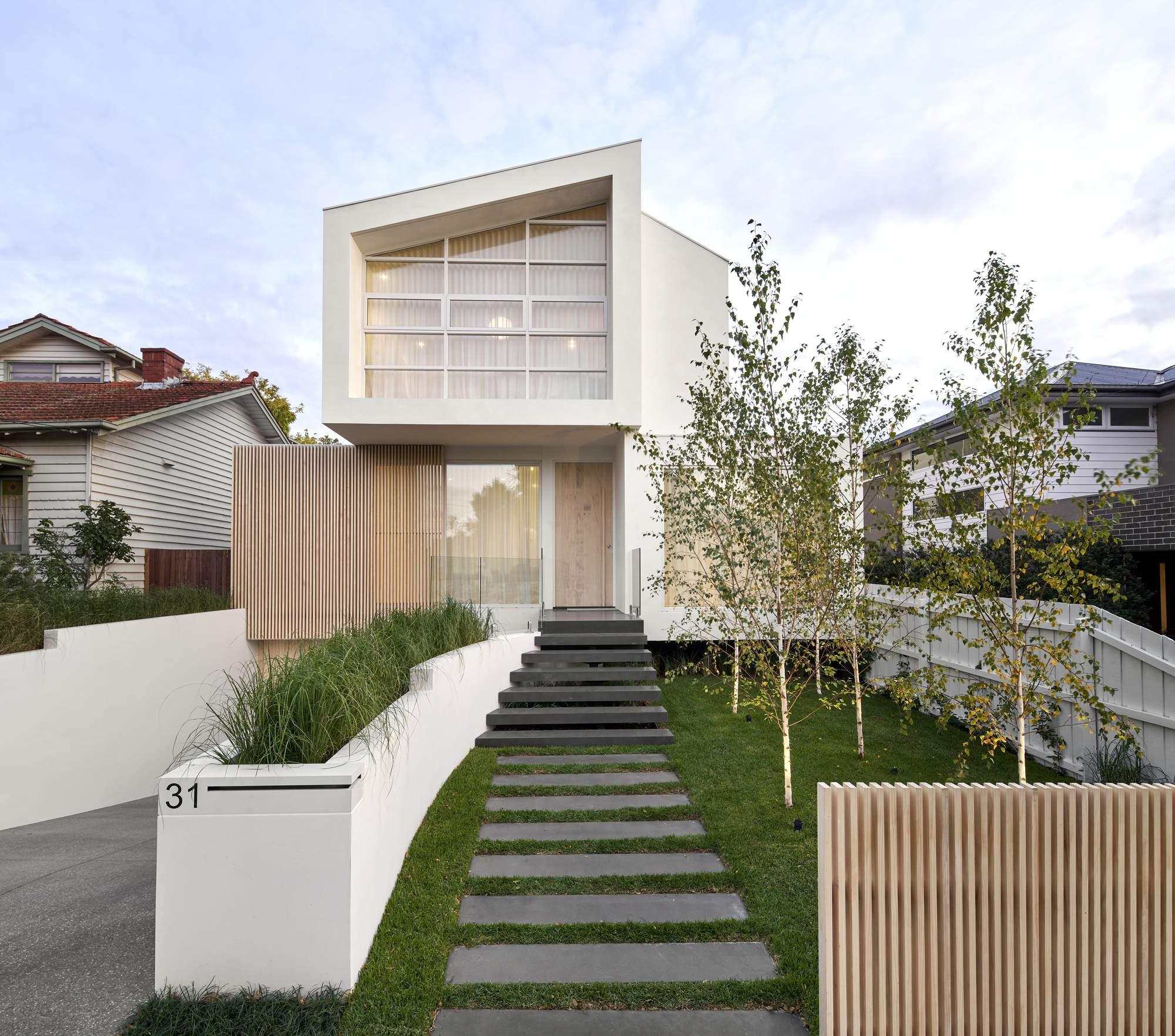 Минималистский семейный дом с вневременной эстетикой, Австралия