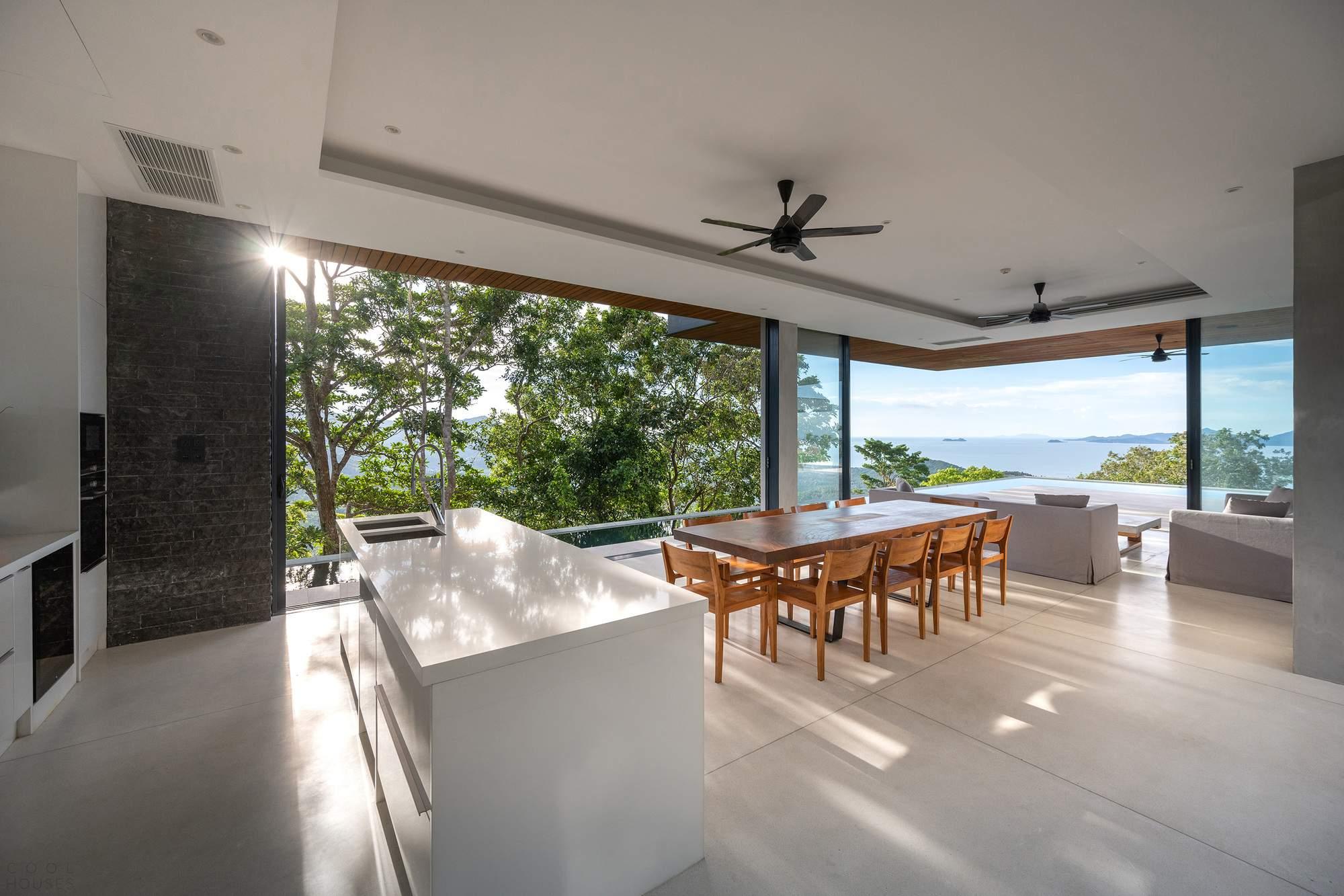 Панорамная консольная резиденция на острове Самуи, Таиланд