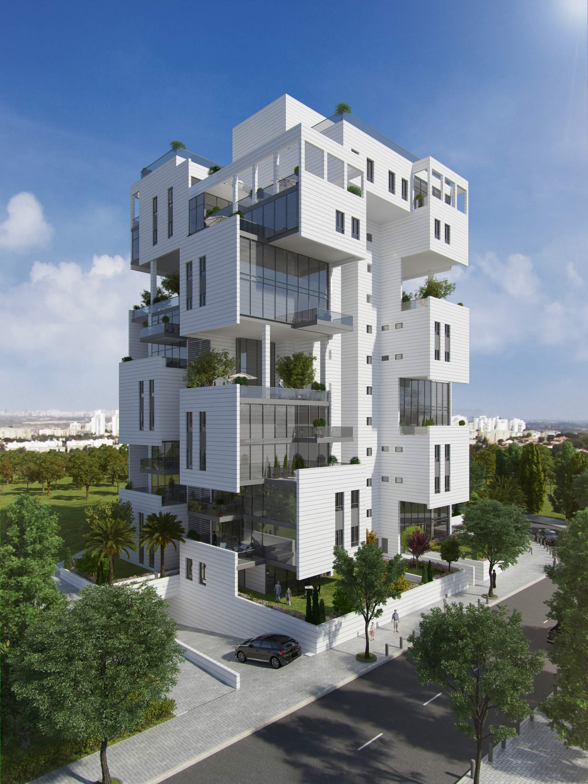 Вращающийся многоквартирный дом, Израиль
