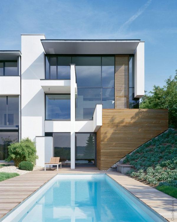 Дом в современном стиле. Германия