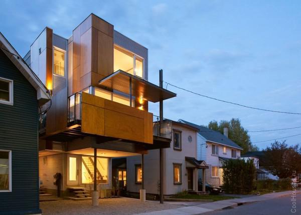 Двойной дом в Канаде