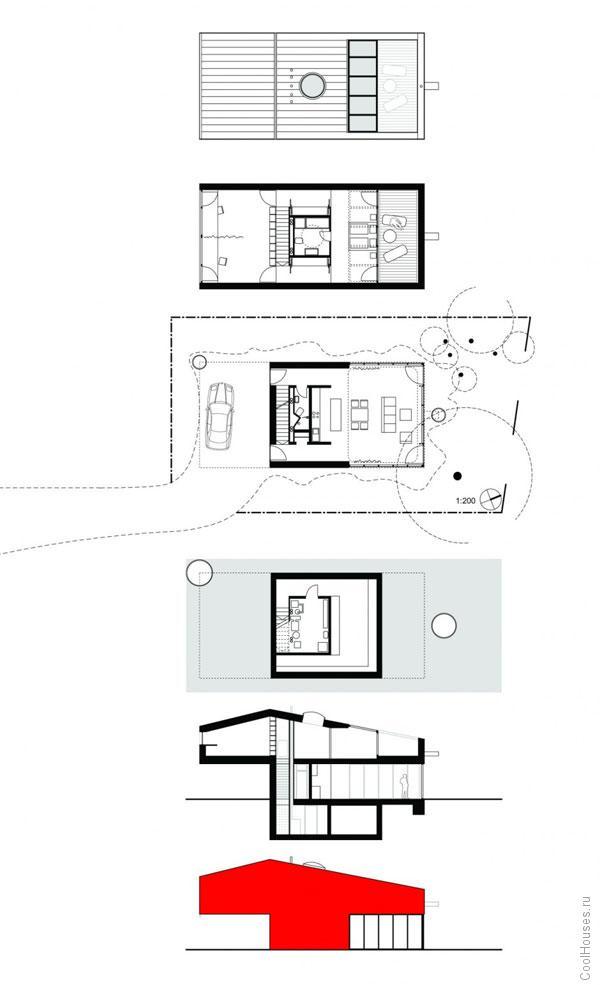 Маленький частный дом в Германии