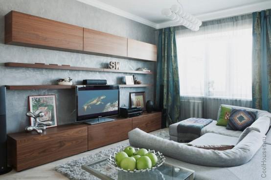 Современные апартаменты с нейтральным дизайном