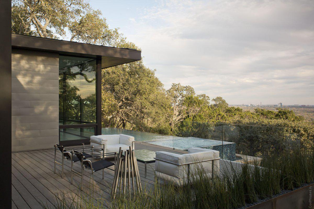 Уютная загородная вилла в Техасе