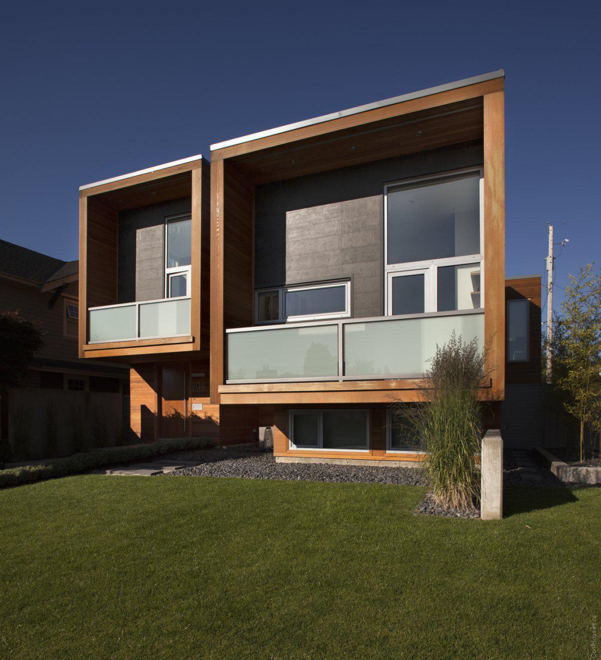 Стильная пристройка к дому в Канаде