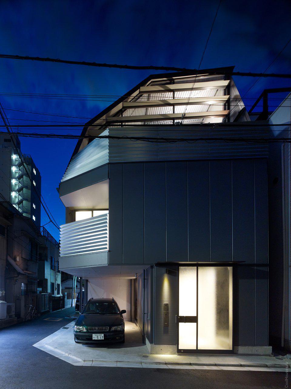 Современный дом в Токио