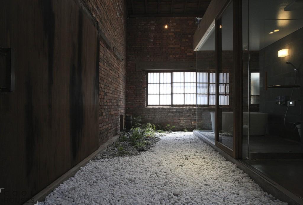 Мужской интерьер в доме Японии