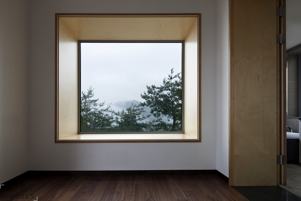 Просторный загородный дом в Корее