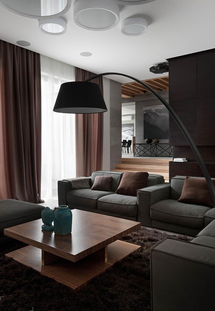 Дизайн интерьера квартиры от студии NOTT DESIGN