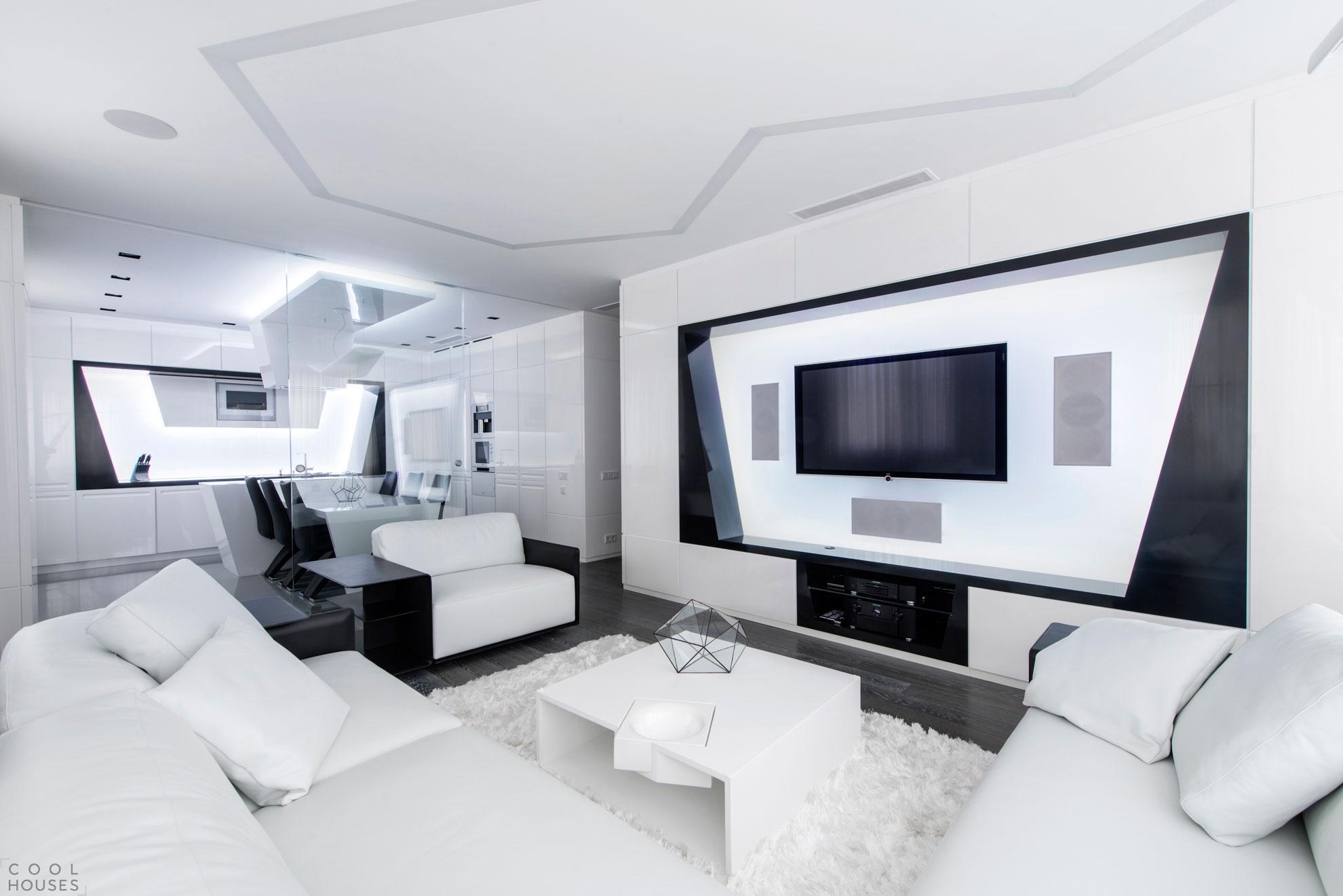 Дизайн квартиры в Москве от студии Geometrix Design
