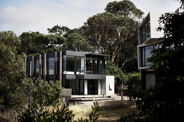 Креативный дом из дерева и металла по проекту Whiting Architects