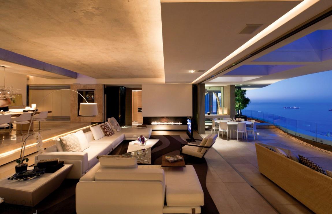 Роскошный дом с видом на океан, Кейптаун