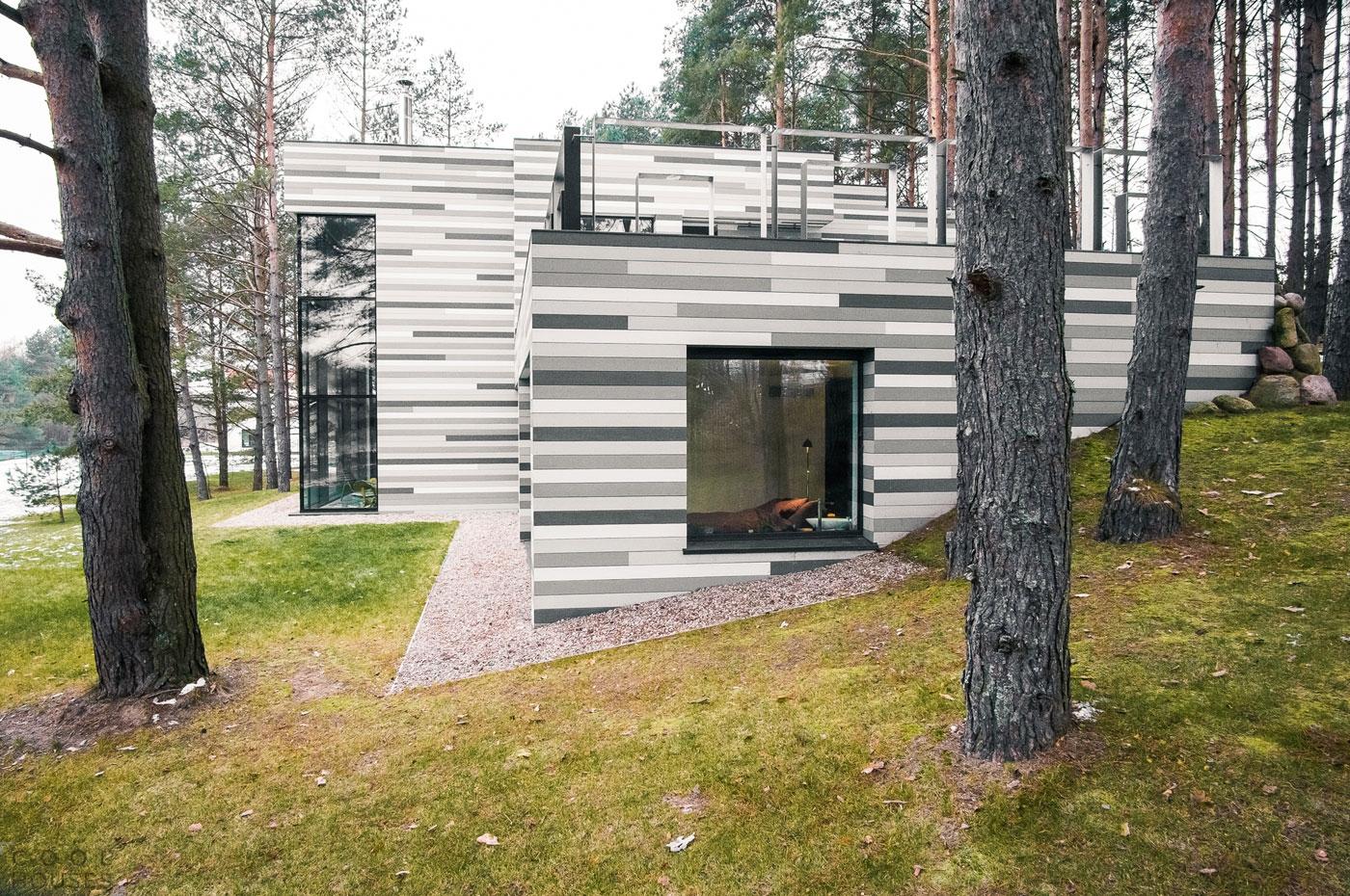 Загородный дом в пригороде Вильнюса от студии GYZA