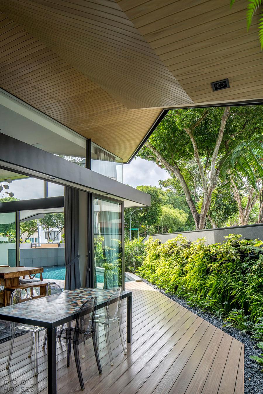 Роскошный особняк в стиле модерн в Сингапуре